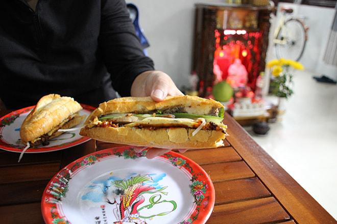 Meilleur Banh Mi de Hoi An Vietnam