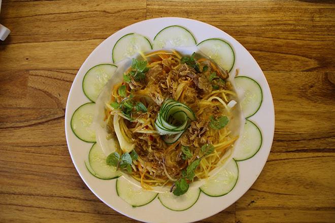 Salade de mango Hoi An Vietnam