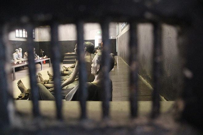 La prison de Hoa Lo à Hanoi