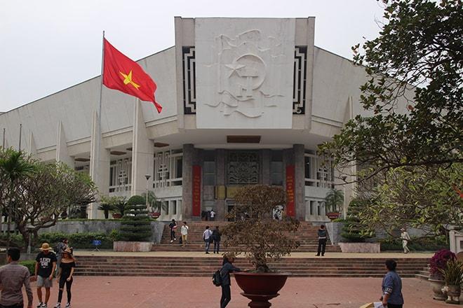 Le musée Ho Chi Minh à Hanoi