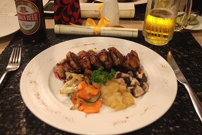 Restaurant français à Hanoi : le Café des Arts