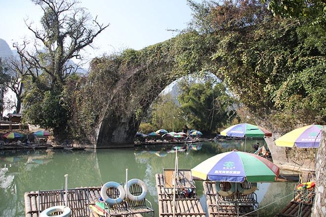 Pont du Dragon près de Yangshuo