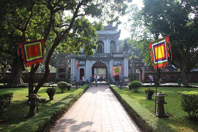 le temple de la Littérature à Hanoi