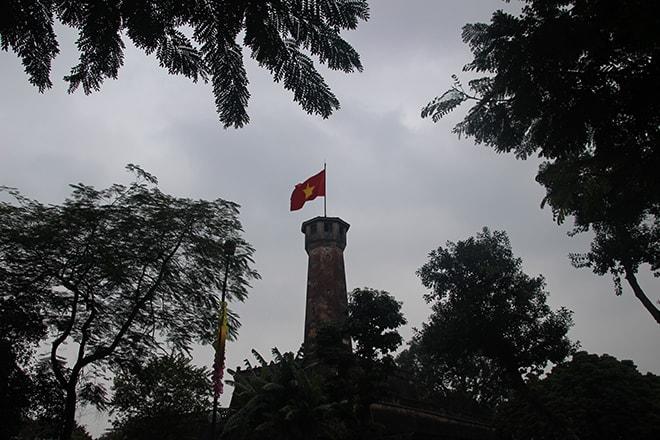 La tour du drapeau à Hanoi