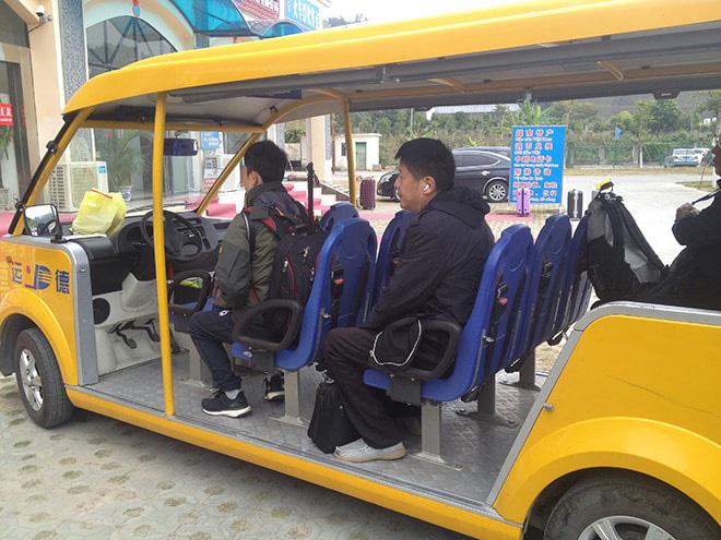 Direction le poste de frontière Chine - Vietnam