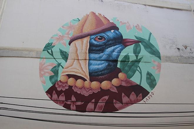 Oiseau Street Art Bangkok