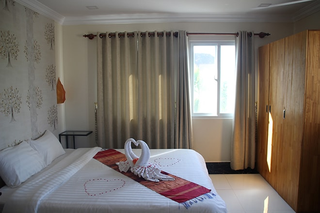 Sokhdom Residence Siem Reap Cambodge chambre