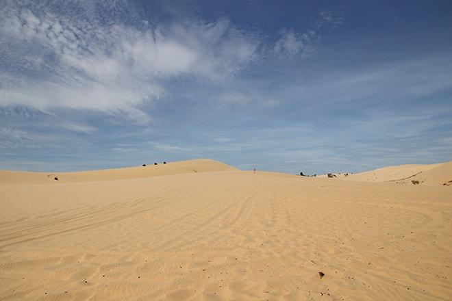 Les dunes blanches de Mui Né
