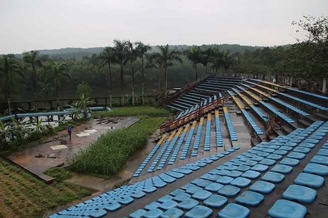 Visiter Hué le parc aquatique abandonné