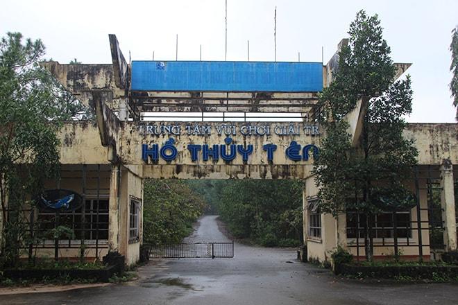 Ho Thuy Tien : parc aquatique abandonné à Hué