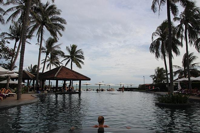 Piscine du resort Anantara à Mui Né