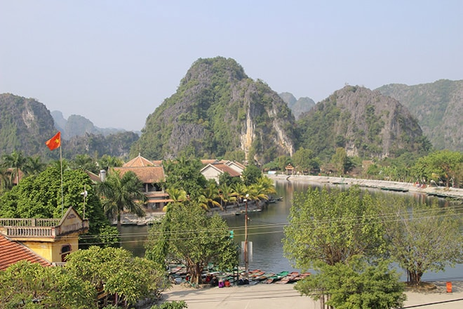 Tam Coc baie halong terrestre Vietnam