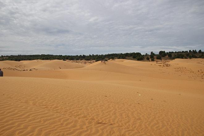 Les dunes rouges de Mui Né