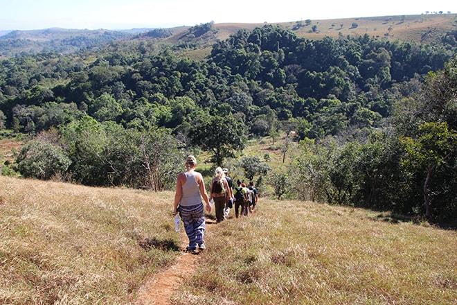 Balade matinale pour trouver les éléphants Sen Monorom Cambodge