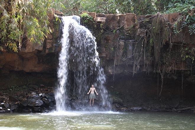 Cascade Sen Monorom Cambodge