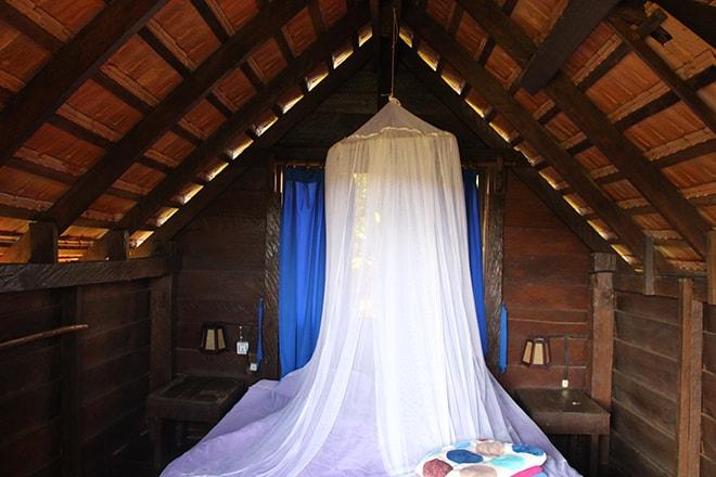 Chambre Nature Lodge Sen Monorom Cambodge