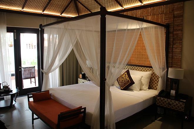 Chambre avec grand lit Pandanus Resort Mui Ne Vietnam