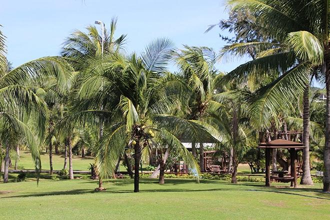 Jardin et parc Pandanus Resort Mui Ne Vietnam