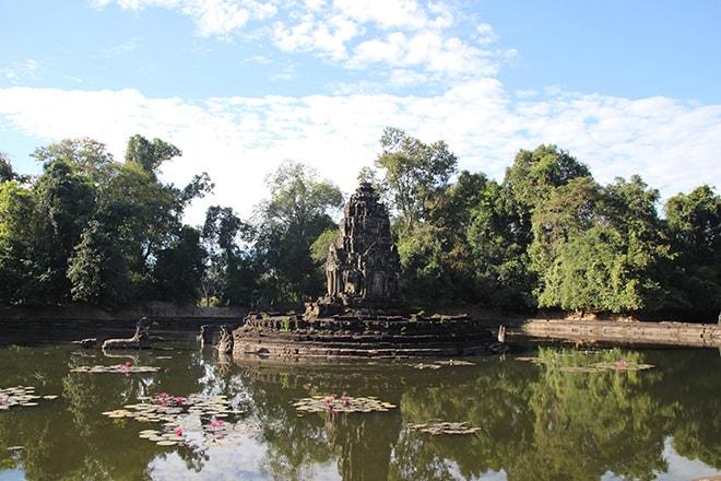 Neak Pean un des temples d'Angkor
