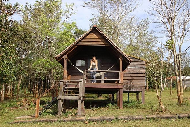 Notre villa au Nature Lodge Sen Monorom Cambodge