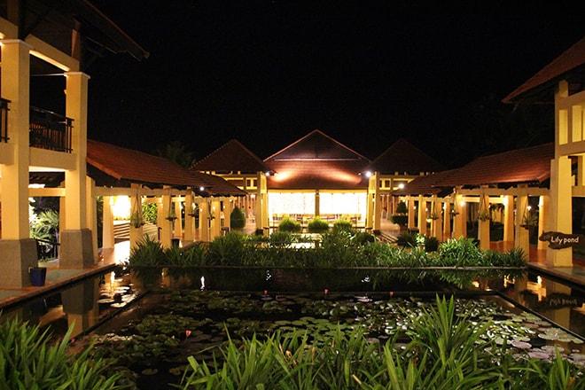 Pandanus Resort Mui Ne Vietnam de nuit