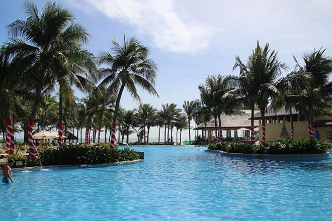 Pandanus Resort Mui Ne Vietnam piscine