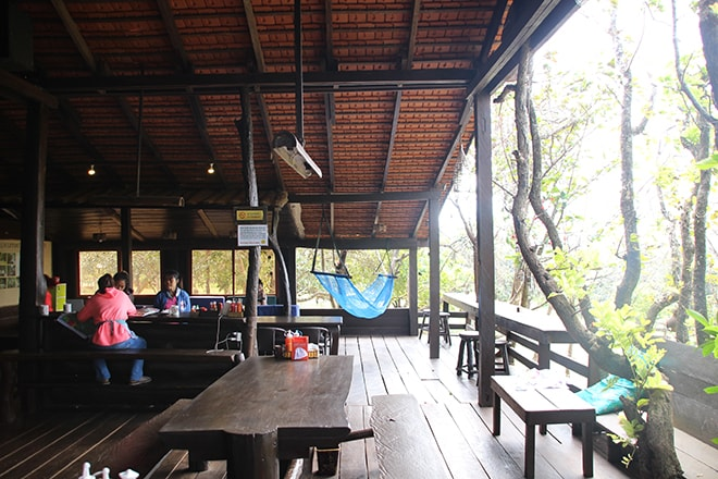 Restaurant Nature Lodge Sen Monorom Cambodge
