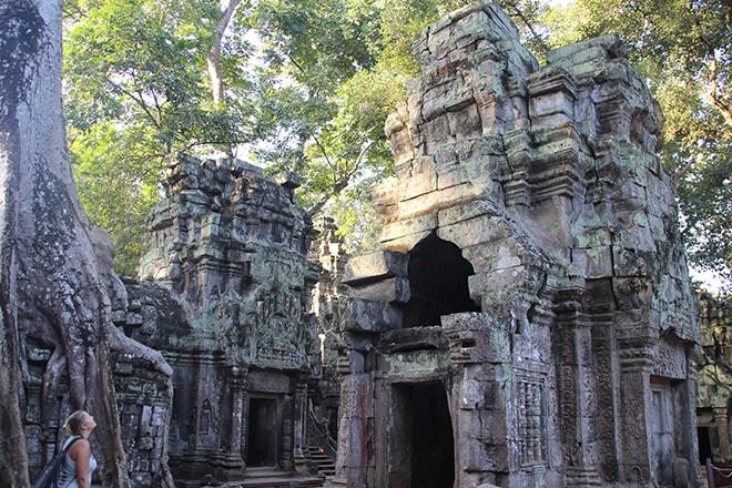 Ta Phrom est un des temples d'Angkor