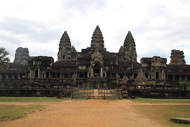 L'arrière d'Angkor Vat