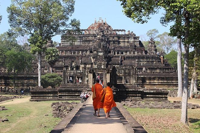 Baphuon un des temples d'Angkor Thom