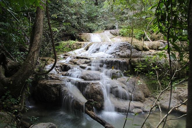 les cascades d u0026 39 erawan pr u00e8s de kanchanaburi