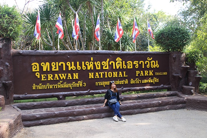 Erawan National Park Thailande