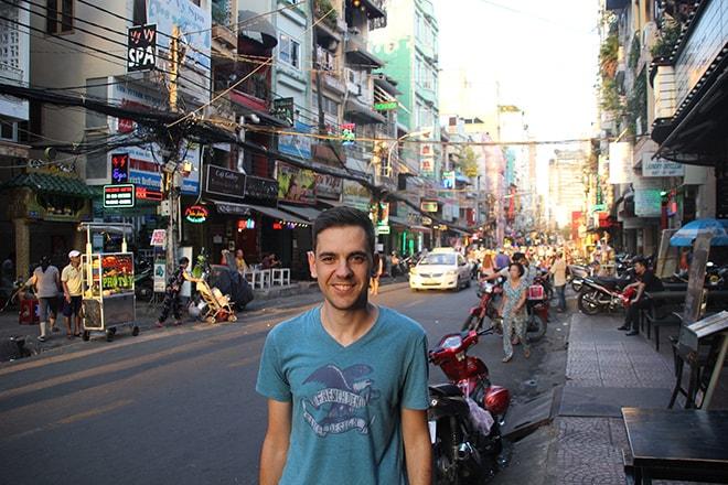 Se faire couper les cheveux à Ho Chi Minh