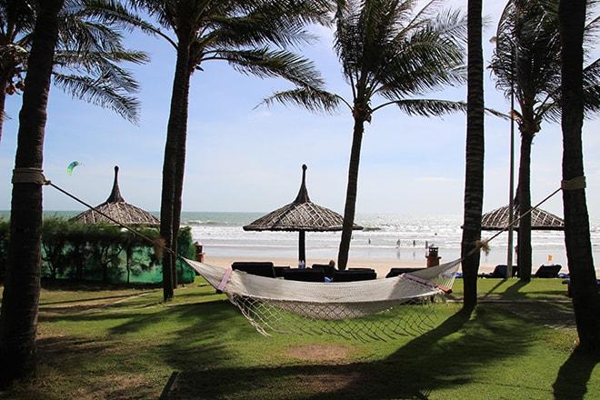 hamac plage Pandanus Resort Mui Ne Vietnam