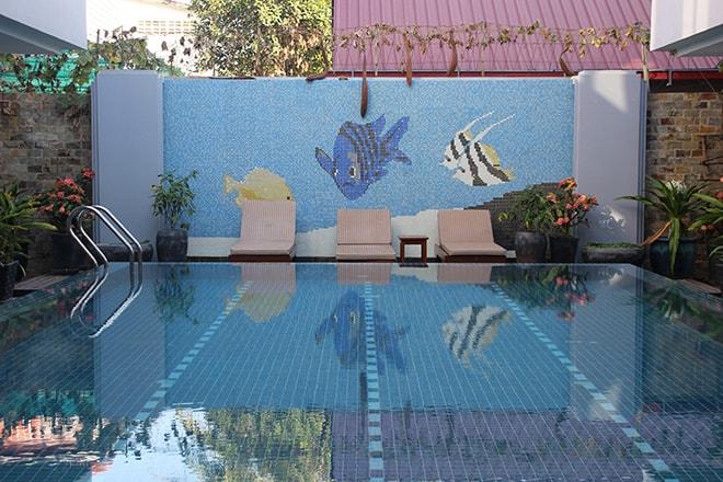 Hotel avec piscine à Siem Reap