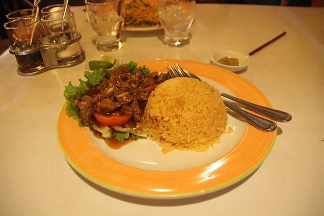 Lok Lak au restaurant Tom Yum Kung