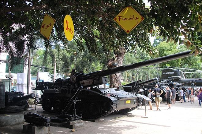 musée des Souvenirs de Guerre à Ho Chi Minh