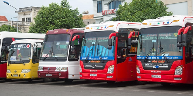 le ticket open bus pour voyager en bus au vietnam