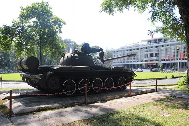 Le Palais de l'Indépendance à Ho Chi Minh