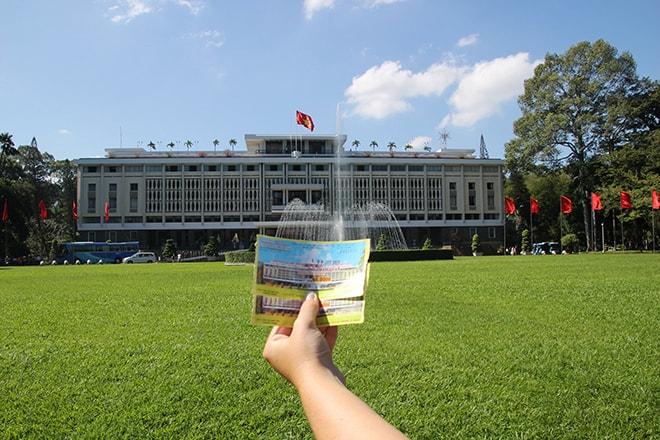 Le Palais de la Réunification à Ho Chi Minh