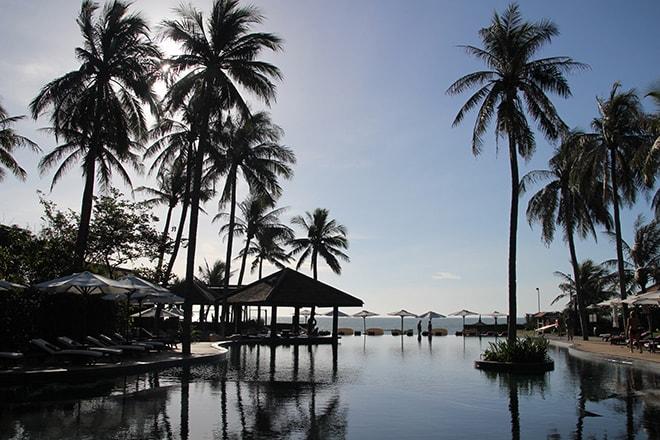 piscine vue sur mer Anantara Mui Ne Vietnam