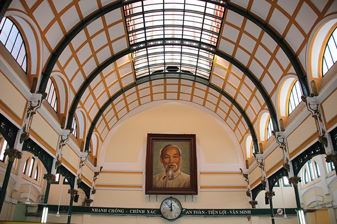 Poste centrale de Ho Chi Minh