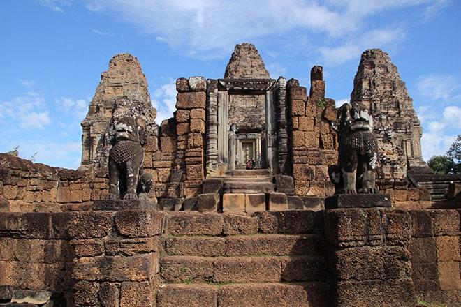 Rre Rup un des temples d'Angkor