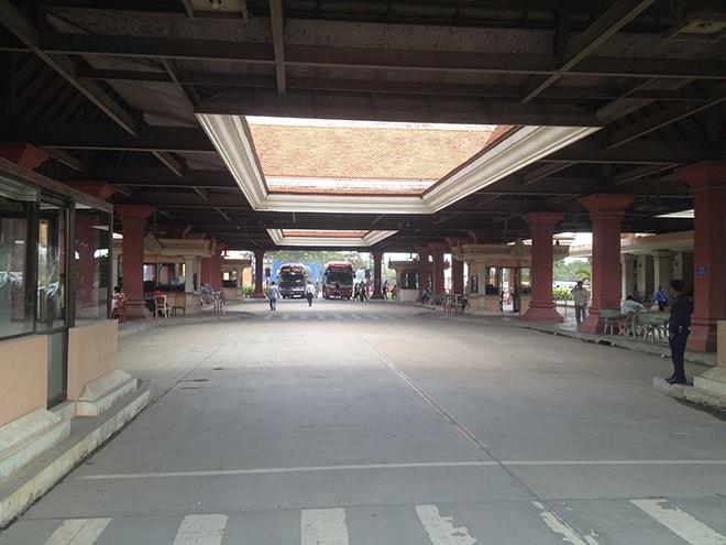 Poste de frontière Prek Chak au Cambodge