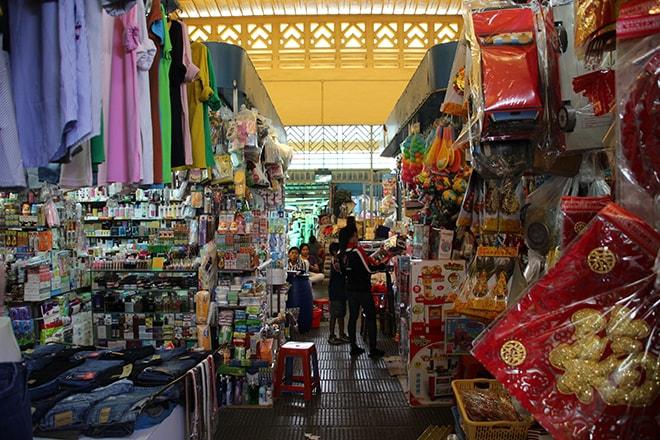Le Marché Centrale de Phnom Penh