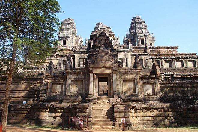 Ta Keo est un des temples d'Angkor