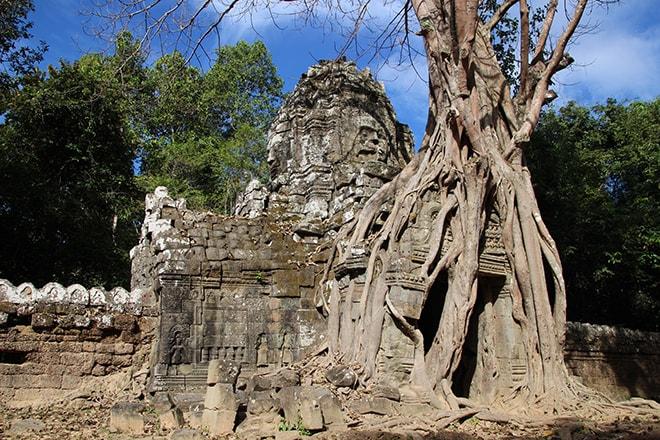 Ta Som est un des temples d'Angkor