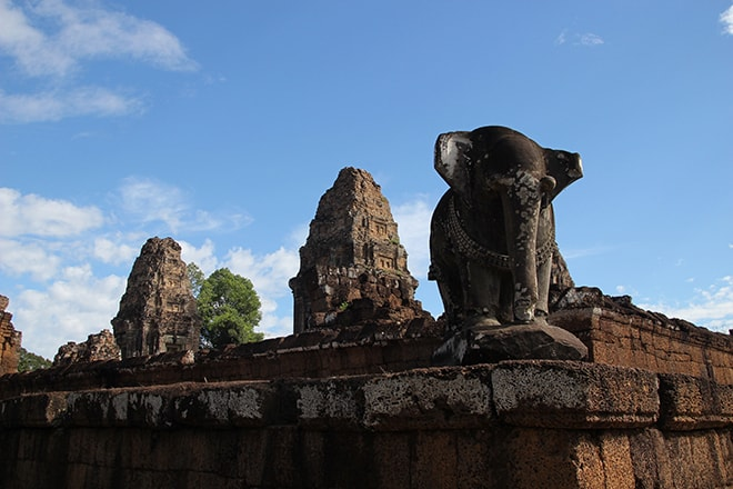 East Mebon un des temples d'Angkor
