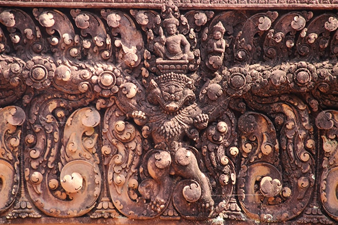 Banteay Srei le temple des femmes d'Angkor
