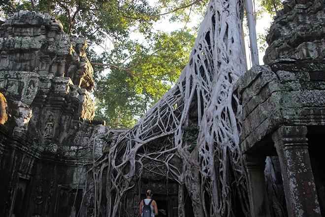 Le temple de Tomb Raider : Ta Phrom